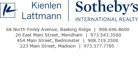 KL Sotheby's International Realty, 68 North Finley Avenue, Basking Ridge, NJ 07920